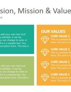 Best Company Mission Statement Template  Sample