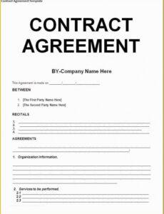 Best Exterior Painting Contract Template