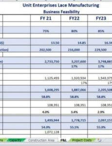 Costum 5 Year Income Statement Template