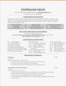 Costum Medical Billing Service Contract Template  Example