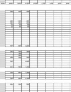 Costum Owner Operator Profit And Loss Statement Template Excel Sample