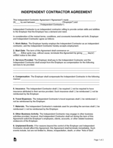 Editable Medical Billing Service Contract Template Pdf