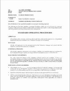 Editable Standard Shipping Policy Template Doc