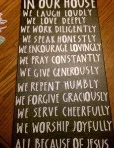 Family Mission Statement Template Word Sample