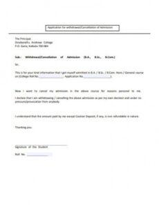 Free 24 Hour Cancellation Policy Template Doc Sample