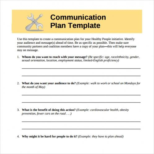 Free Employee Communication Policy Template Excel Sample