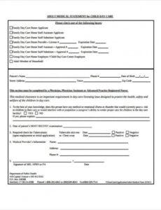 Free Patient Insurance Statement Template  Sample