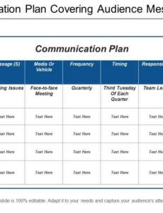 Media Communication Policy Template Pdf