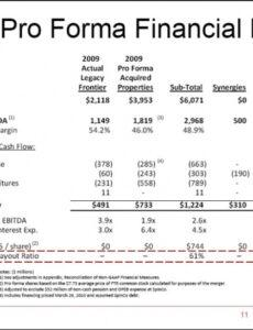 Printable 5 Year Income Statement Template Word Example
