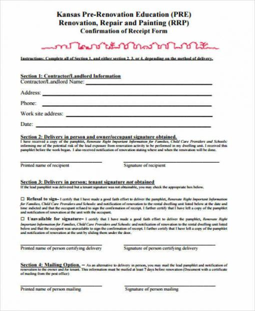 Professional Exterior Painting Contract Template Word Example