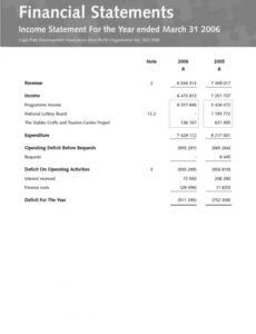 Best Investment Policy Statement Template Non Profit Excel