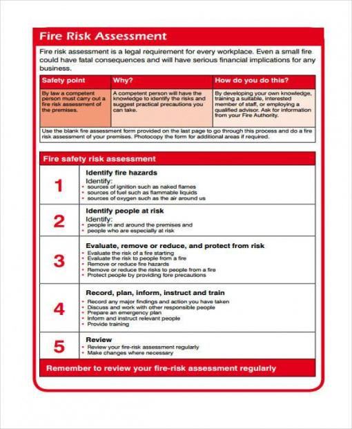 Costum Company Fire Safety Policy Template  Example