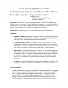 Costum Retail Health And Safety Policy Template Excel Sample