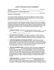 Costum Store Lease Agreement Template Excel Example