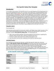 Professional Company Fire Safety Policy Template Excel Sample
