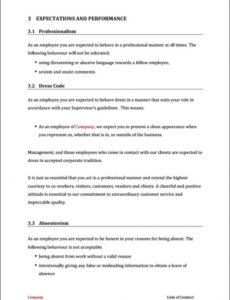 Professional No Show Fee Policy Template Pdf