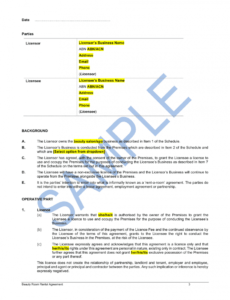 Salon Health And Safety Policy Template  Sample