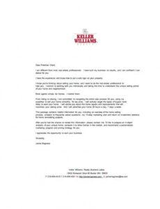 editable 11 real estate marketing letter examples & templates real estate prospecting letter template