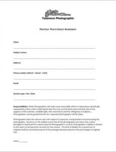 editable free 23 photography contract templates and samples in pdf photography services contract template example
