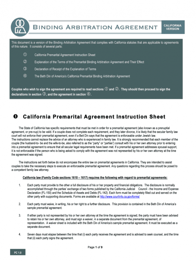 editable prenuptial agreement form  fill out and sign printable california prenuptial agreement template excel