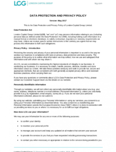 free free 18 privacy policy examples in pdf  google docs app privacy policy template word