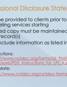 printable ppt  north carolina licensure for professional counselor counseling supervision contract template word