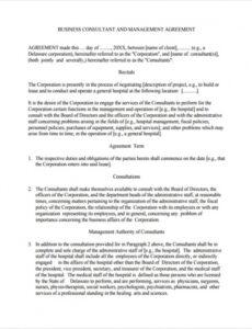 editable free 7 sample business consulting agreement templates in master services agreement template consulting doc