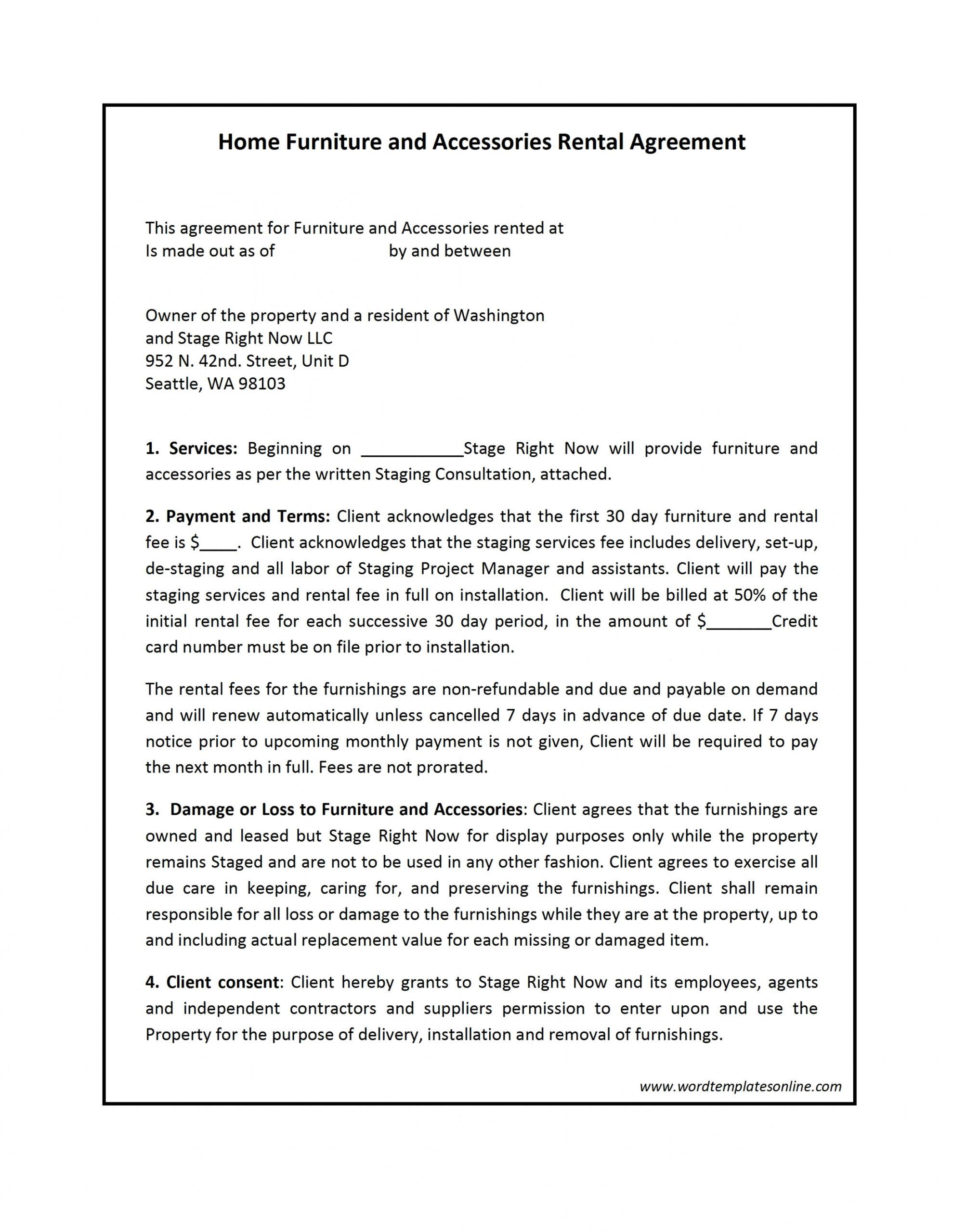free rental contract template lease to own template contract sample