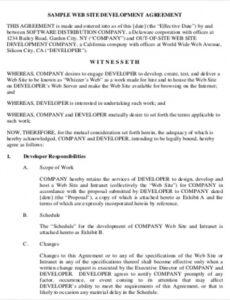 printable free 13 simple contract agreement templates in ms word  pdf simple contract agreement template sample