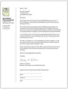 printable selling u negotiating to win for your job offer employment counter offer letter template doc
